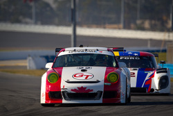 #22 Bullet Racing Porsche GT3: Randy Blaylock, Darryl O'Young, Steve Paquette, Joe White