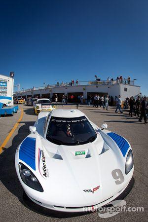 #9 Action Express Racing Chevrolet Corvette DP: Joao Barbosa, Terry Borcheller, JC France, Max Papis