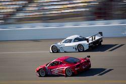 #56 AF - Waltrip Ferrari 458: Rui Aguas, Robert Kauffman, Travis Pastrana, Michael Waltrip, #9 Actio