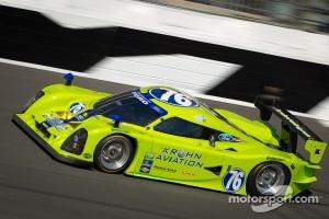 #76 Krohn Racing Ford Lola: Colin Braun, Nic Jonsson, Tracy Krohn, Ricardo Zonta