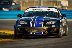 #03 CJ Wilson Racing Mazda MX-5: Bruce Ledoux, Chad McCumbee, Marc Miller, Jason Saini, CJ Wilson