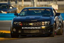 #00 CKS Autosport Camaro GS.R: Ashley McCalmont, Brett Sandberg