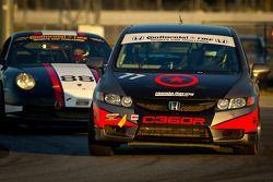 #77 Compass360 Racing Honda Civic SI: Bo Roach, Remo Ruscitti