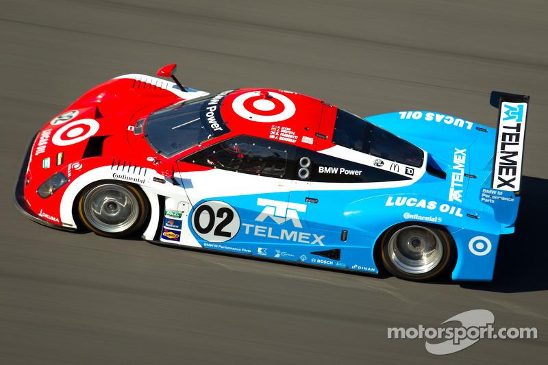 #02 Chip Ganassi Racing with Felix Sabates BMW Riley: Scott Dixon, Dario Franchitti, Jamie McMurray, Juan Pablo Montoya
