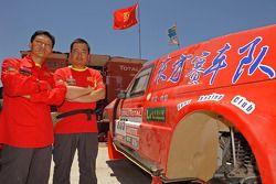 Jihong Zhou and Liao Men