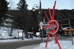 entrance to Madonna di Campiglio