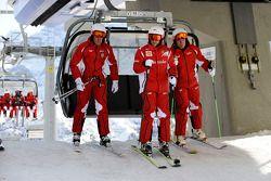 Fernando Alonso ve Felipe Massa