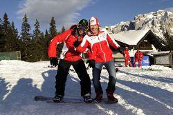 Valentino Rossi ve Nicky Hayden