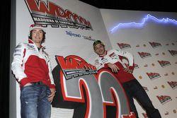 Nicky Hayden y Valentino Rossi
