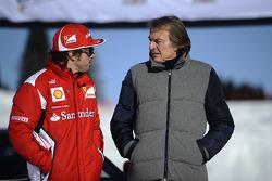 Fernando Alonso ve Luca di Montezemolo