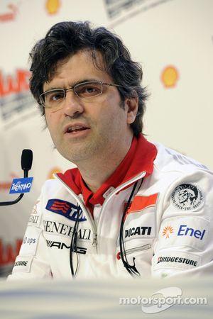 Filippo Preziosi, Ducati Corse General Manager
