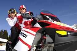 Valentino Rossi et Nicky Hayden