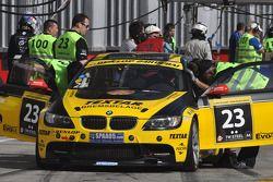 #23 Black Falcon BMW M3 GT4: Christian von Rieff, Christian Raubach, Steve Jans, Michel Pfluger, Man