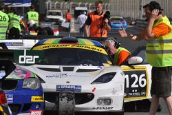#126 Marcos Racing 1 Lotus Evora: Hal Prewitt, Richard Verburg, Alistair MacKinnon, Simon Atkins, Co