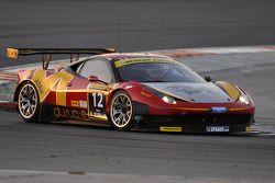 #12 AUH Motorsports/FF Corse Ferrari 458 Italia GT3: Leon Price, Rob Barff, Jordan Grogor, Charles H