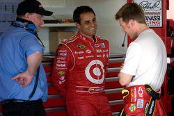 Juan Pablo Montoya, Earnhardt Ganassi Racing Chevrolet y Jamie McMurray, Earnhardt Ganassi Racing Ch