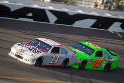 Tony Stewart, Stewart-Haas Racing Chevrolet and Danica Patrick, Stewart-Haas Racing Chevrolet