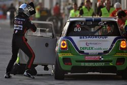#80 Besaplast Racing Team BMW MINI: Franjo Kovac, Martin Tschornia, Cora Schumacher, Fredrik Lestrup