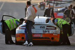 #119 Gulf Team First Aston Martin Vantage N24 GT4: John Iossifidis, Martin Baerschmidt, Yusif Bassil