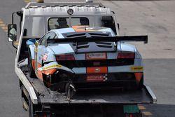 #9 Gulf Racing Lamborghini Gallardo LP600: Roald Goethe, Archie Hamilton, Stuart Hall, Michael Wainw