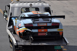#9 Gulf Racing Lamborghini Gallardo LP600: Roald Goethe, Archie Hamilton, Stuart Hall, Michael Wainwright