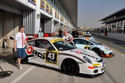 #43 Förch Racing Porsche 997 GT3 Cup: Robert Lukas, Mariusz Miekos, Adam Kornacki, Florian Scholze,