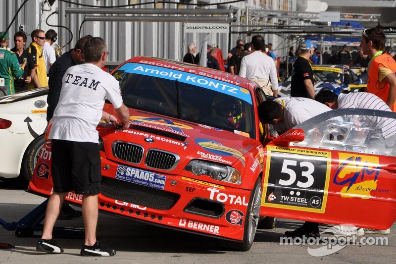 #53 Duwo Racing BMW M3 E46: Jean-Marie Dumont, Frédéric Schmit, Nicolas Schmit, Stéphane Bailly, Thi