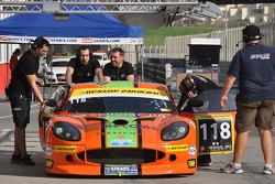 #118 Nova Race Arancio Ginetta G50: Tiziano Frazza, Luca Magnoni, Luis Scarpaccio, Matteo Cressoni