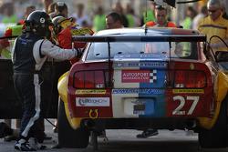 #27 VDS Racing Adventures Ford Mustang GT3: Raphael van der Straten, Benjamin Bailly, Julien Schroye