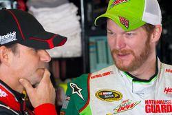 Jeff Gordon und Dale Earnhardt Jr.