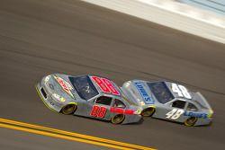 Dale Earnhardt Jr., Hendrick Motorsports Chevrolet et Jimmie Johnson, Hendrick Motorsports Chevrolet