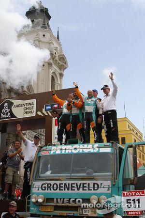 Мики Биазон, Джорджио Альбейро и Мишель Хьюсман.