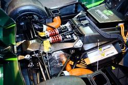 Motor/batteries of Lola Drayson B12/69 EV
