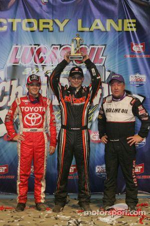 Kyle Larson, Kevin Swindell and Sammy Swindell