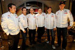 De Citroën Total World Rally Team persconferentie