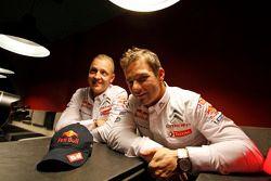 Mikko Hirvonen and Sébastien Loeb, Citroën Total World Rally Team
