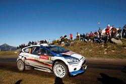 Francois Delecour and Dominique Savignoni, Ford Fiesta RS WRC