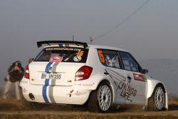 Sébastien Ogier en Julien Ingrassia, Skoda Fabia S2000
