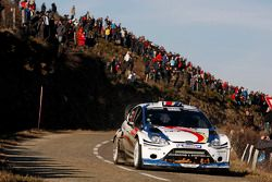 Francois Delecour and Dominique Savignon, Ford Fiesta RS WRC