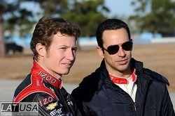 Ryan Briscoe and Helio Castroneves, Team Penske