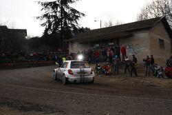 Sébastien Ogier and Julien Ingrassia, Skoda Fabia S2001