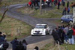 Sébastien Ogier and Julien Ingrassia, Skoda Fabia S2002