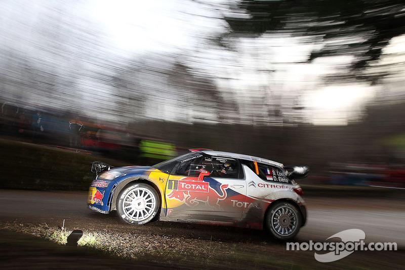 2012 - Sixième victoire de Loeb : Citroën DS3 WRC