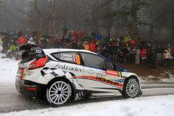 Francois Delecour and Dominique Savignoni, Ford Fiesta RS WRC, M-Sport Ford World Rally Team