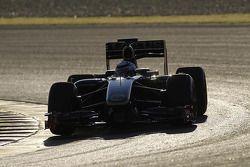 Kimi Raikkonen test ediyor2010 Lotus Renault