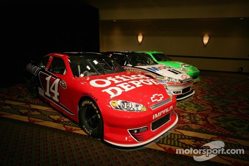 Car of Tony Stewart, Stewart-Haas Racing Chevrolet