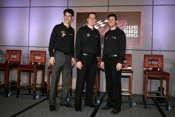 Joey Logano, Joe Gibbs Racing Toyota, Kyle Busch, Joe Gibbs Racing Toyota and Denny Hamlin, Joe Gibbs Racing Toyota