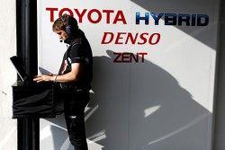 Un ingeniero de Toyota