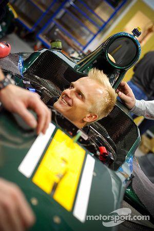 Хейкки Ковалайнен. Презентация Caterham F1, Презентация.