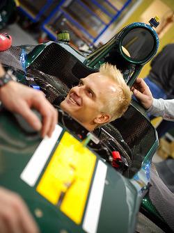 Heikki Kovalainen im Caterham CT01